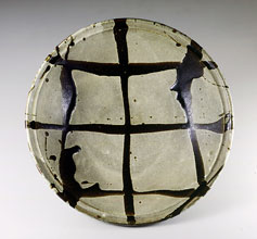 白釉流掛大鉢  径58.0cm  1963年