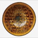 河井寬次郎 鉛釉象嵌鉢